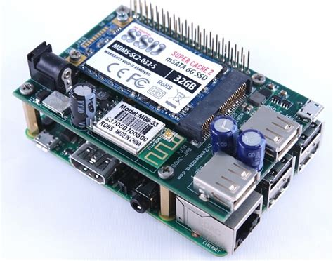 Raspberry Pi 2 Multi-Function Solid State Disk (SSD