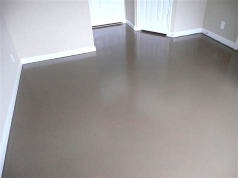 Concrete Floor Painting and Sealing - Broom Construction