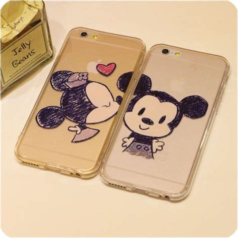 Kissing Minnie Mickey Mouse For iphone 6 plus 5s 5 Case