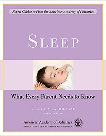 Sleep: What Every Parent Needs to Know [Paperback] - AAP
