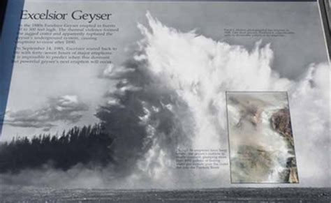 Excelsior Geyser - Yellowstone National Park - Wyoming