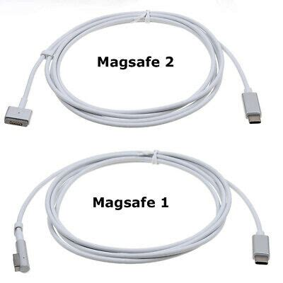 USB C Type C to Magsafe-1/2 Cable Adapter For Apple