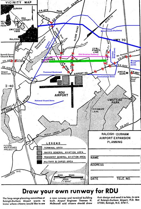 Raleigh-Durham Airport Fire-Rescue - Maps & Diagrams