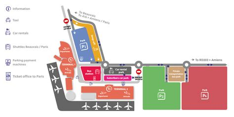 Opening hours and maps of the terminals   Aéroport Paris