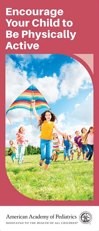 Encourage Your Child to Be Physically Active Brochure - 50