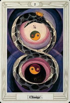 Two of Disks Thoth Tarot Card Tutorial - Esoteric Meanings