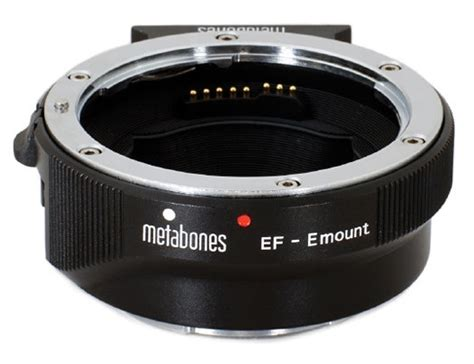 Metabones 4th-Gen Canon EF Lens to Sony E-Mount Camera Adapter