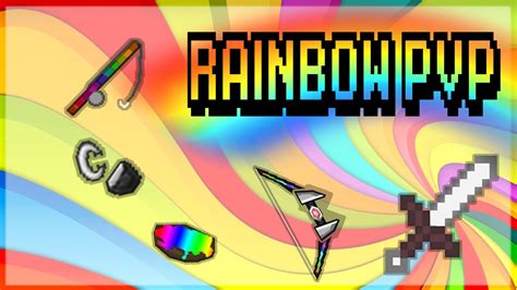 Texture Pack Rainbow Pvp - Best Rainbow Pack Ever 1