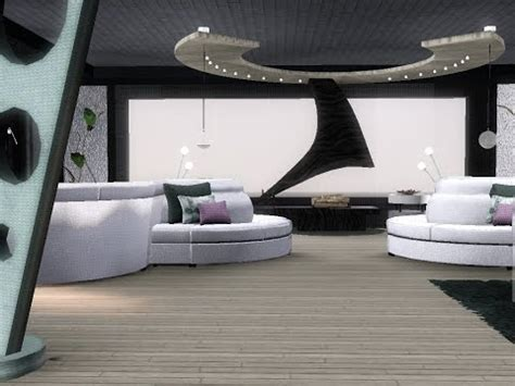 """Sims 3 apartment design penthouse (Get the """"FULLY"""