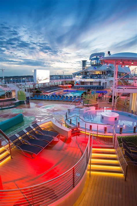 Elation Lighting Replay on Royal Caribbean's Anthem of the