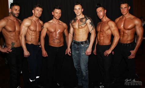 SOIREE TENTATIONS : Show Chippendales Men X Ite - - SALLE