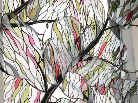 Riggo Design   Tree of Life Stained Glass Window