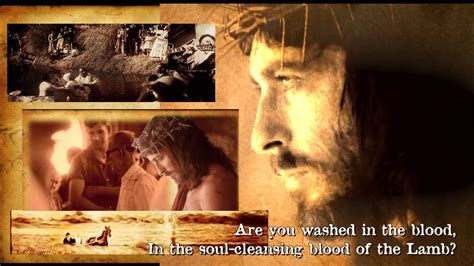 """""""Are You Washed In The Blood? (of the Lamb)"""" Old-Fashioned"""