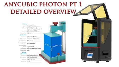 ANYCUBIC PHOTON! 3D DLP LCD Resin Printer Part 1, Unbox