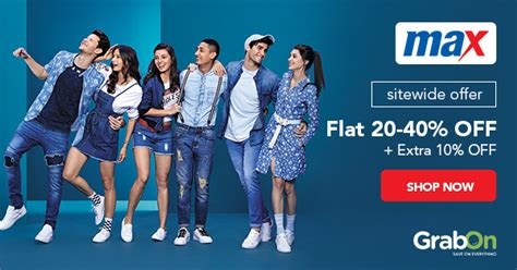 Max Fashion Coupons, Offers: 50% + ₹500 OFF Promo Code