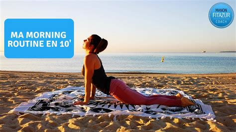 Réveil musculaire en 10 minutes - Ma morning routine - YouTube