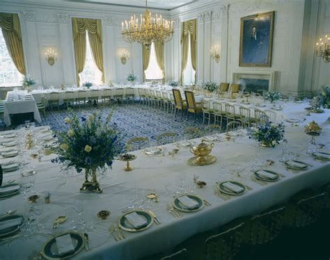 White House Rooms: Vermeil Room, State Dining Room, Red