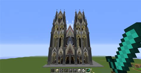 Gothic cathedral project Minecraft Map