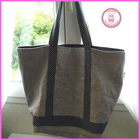 sac cabas style VB - Pop Couture