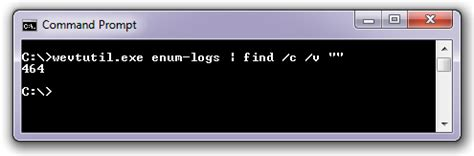 Counting lines in Windows command prompt – Rickard Nobel