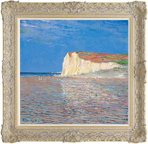 Low Tide At Pourville (In The Style Of Claude Monet