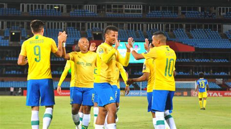 Three-star Sundowns douse Petro in style   Total CAF