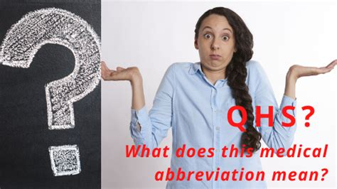 9 Best Tips On QHS Medical Abbreviation - Best Rx For Savings