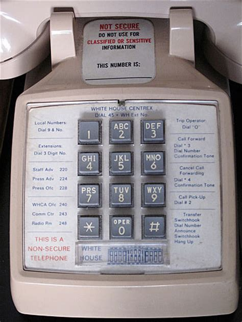 Presidential Telephones of the United States - Manufacture