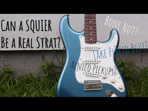 Squier FSR Classic Vibe 60's Strat - Olympic White W/Mint
