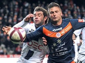 Leaders Montpellier held as French League race intensifies