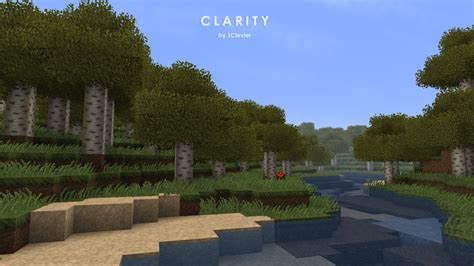 Clarity Resource Pack - Texture Packs - Minecraft - CurseForge
