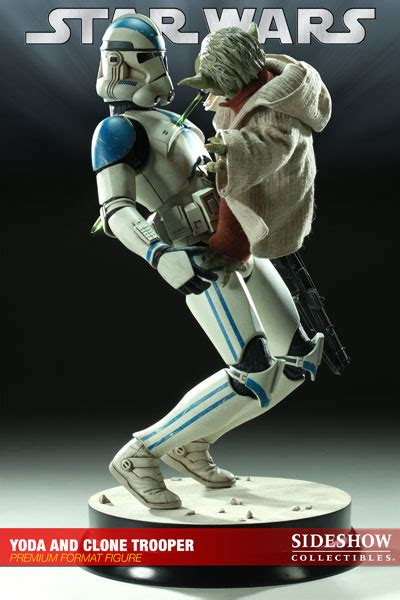 Stormtrooper: Sideshow - Yoda and Clone Trooper