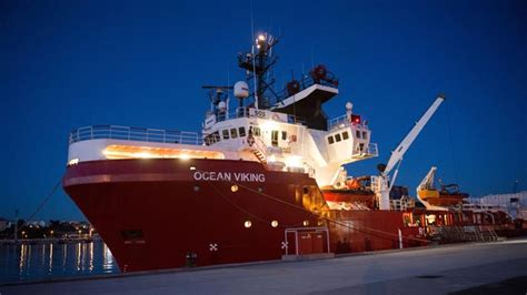 Ocean Viking migrant rescue ship 'not allowed' to refuel