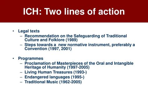 PPT - TheWHYs of Intangible Heritage Rieks Smeets UNESCO